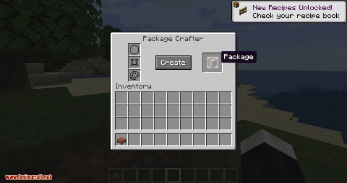 Packages mod for minecraft 04
