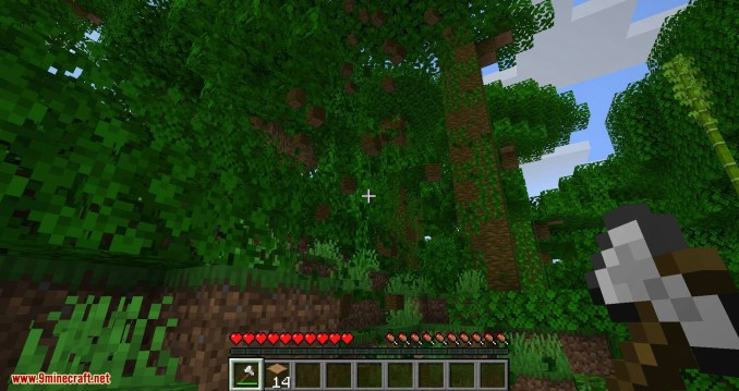 pizzaatime_s Timber Mod for minecraft 06