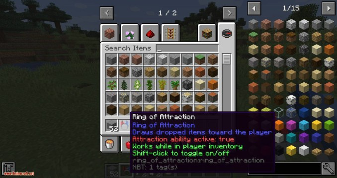 Ring of Attraction mod for minecraft 05