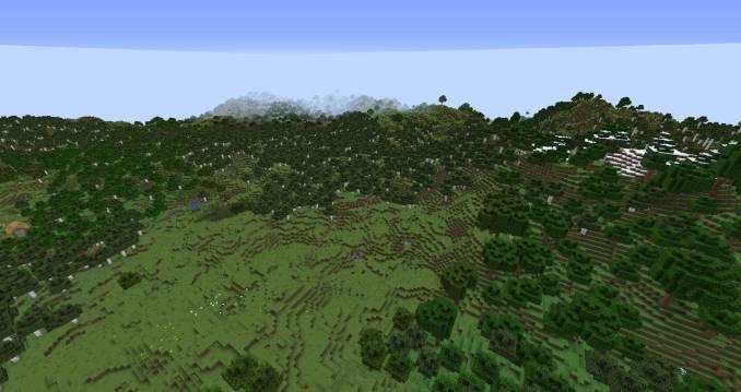 Simplex Terrain mod for minecraft 25