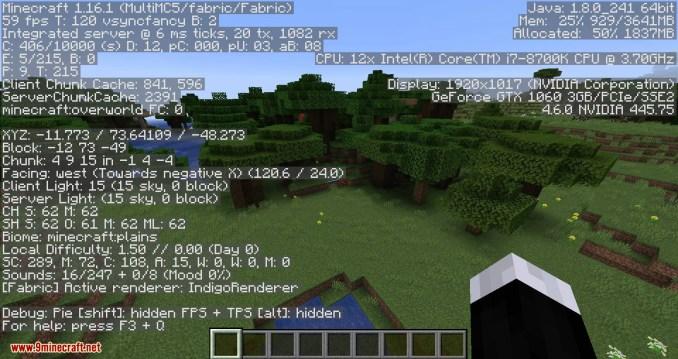 Sodium mod for minecraft 01