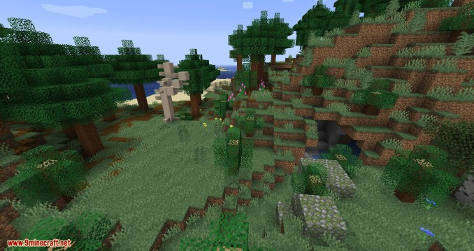 Woods and Mires mod for minecraft 06