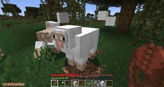 Ceramic Shears mod for minecraft 11
