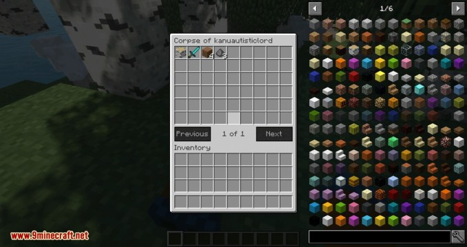 Corpse mod for minecraft 04