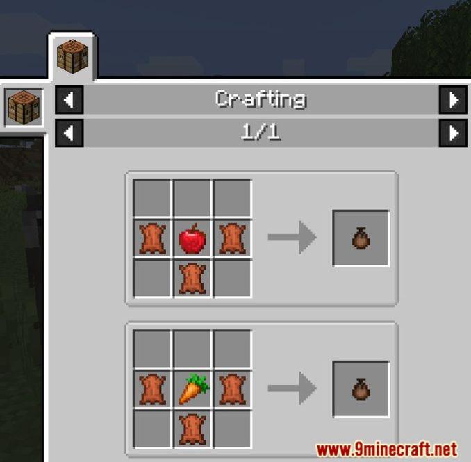 Food Pouches Mod Screenshots 9