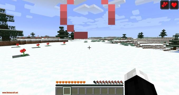 Health Overlay mod for minecraft 05
