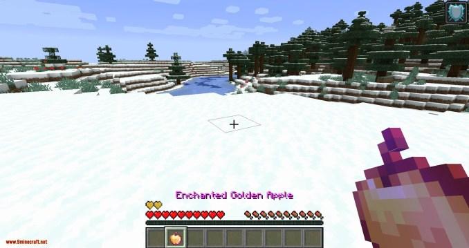 Health Overlay mod for minecraft 01