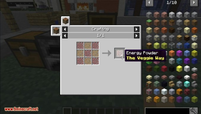 The Veggie Way Mod Crafting Recipes 1