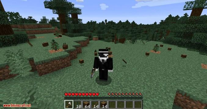 Tree Harvester mod for minecraft 07