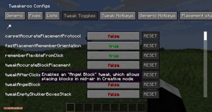 Tweakeroo mod for minecraft 04
