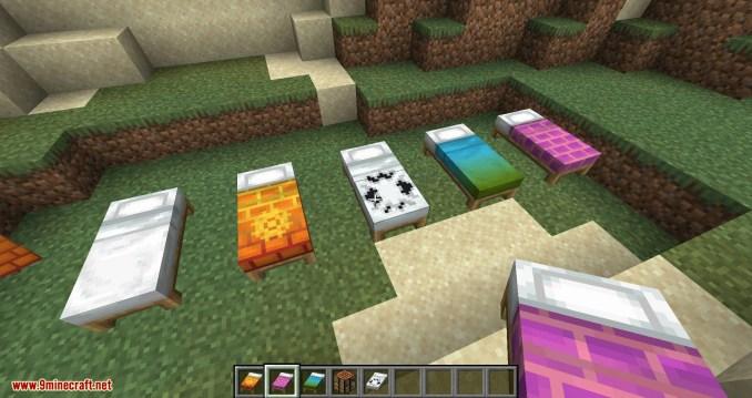 Bedspreads mod for minecraft 07