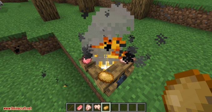 Campfire Torches mod for minecraft 06