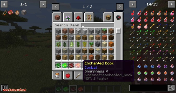 Enchanted Book Redesign mod for minecraft 04