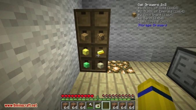 Storage Drawers Mod Screenshots 14