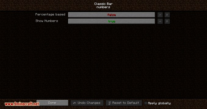 Classic Bars mod for minecraft 03