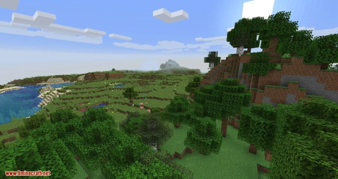 Connected Glass mod for minecraft 01