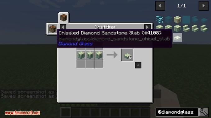 Diamond Glass Mod Crafting Recipes 15