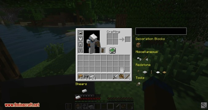 Easier Crafting mod for minecraft 09