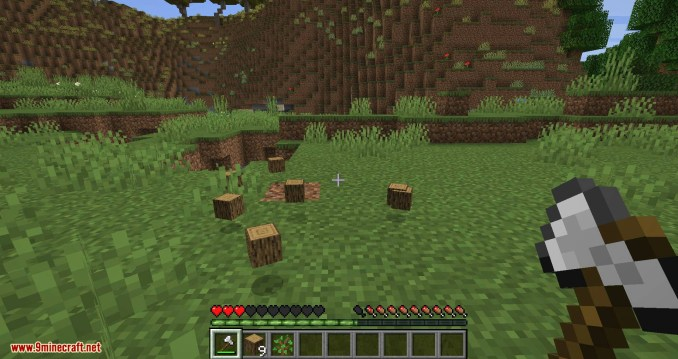 Falling Tree mod for minecraft 07