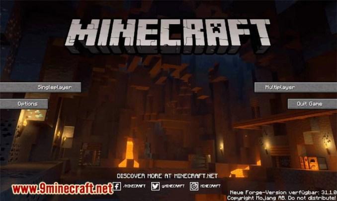 FancyMenu mod for minecraft 12