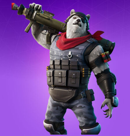 Fortnite Polar Patroller Skin - Full list of cosmetics : Fortnite Bear Brigade Set | Fortnite skins.