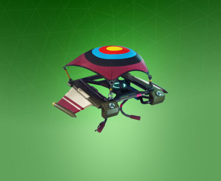 Fortnite Targeted Glider - Full list of cosmetics : Fortnite Bullseye Set | Fortnite skins.