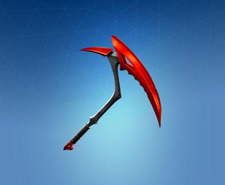 Fortnite Crimson Scythe Harvesting Tool - Full list of cosmetics : Fortnite Inferno Set   Fortnite skins.