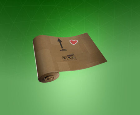 Fortnite Crafted Cardboard Wrap - Full list of cosmetics : Fortnite Special Delivery Set | Fortnite skins.