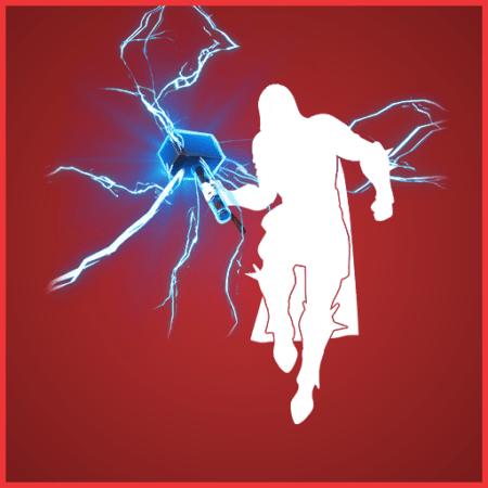 Fortnite Mjolnir's Path Glider - Full list of cosmetics : Fortnite Thor Set | Fortnite skins.