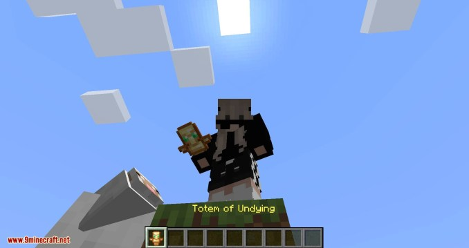 Inventory Totem mod for minecraft 02