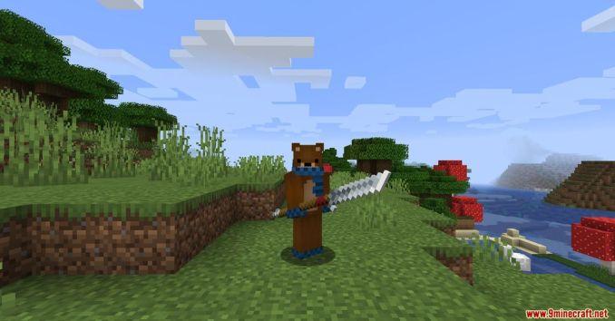 MC Dungeon Weapons Mod Screenshots 3