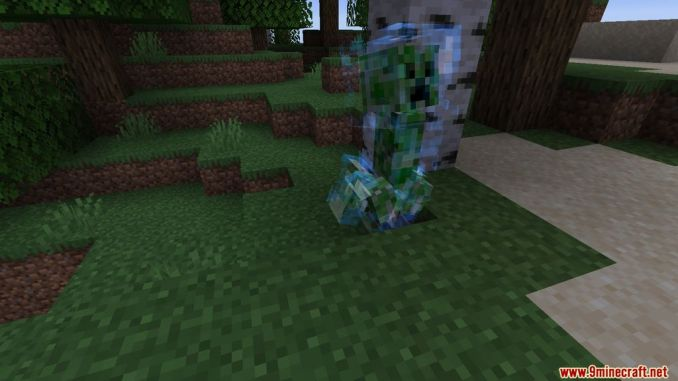Naturally Charged Creepers Mod Screenshots 3