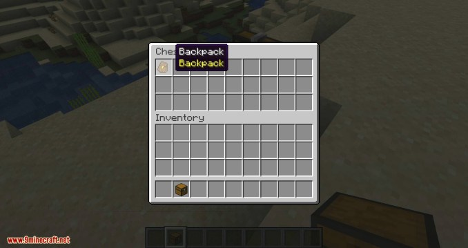 Simple Backpack mod for minecraft 04