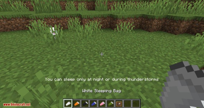 Sleeping Bags mod for minecraft 04
