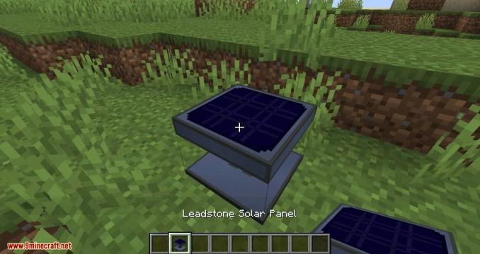 Solar Generation mod for minecraft 02