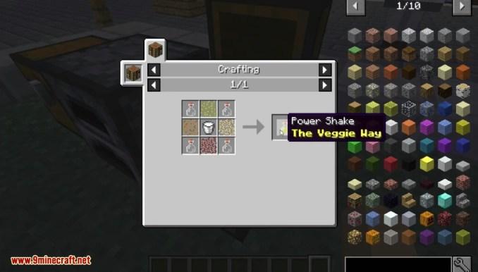 The Veggie Way Mod Crafting Recipes 7