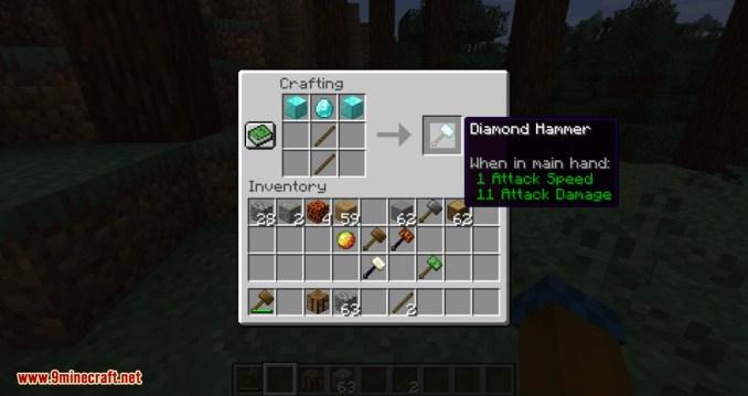 Vanilla Hammers mod for minecraft 14