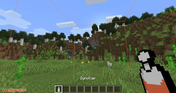 Dynocaps mod for minecraft 01