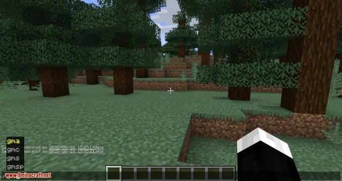GamemodeOverhaul mod for minecraft 03