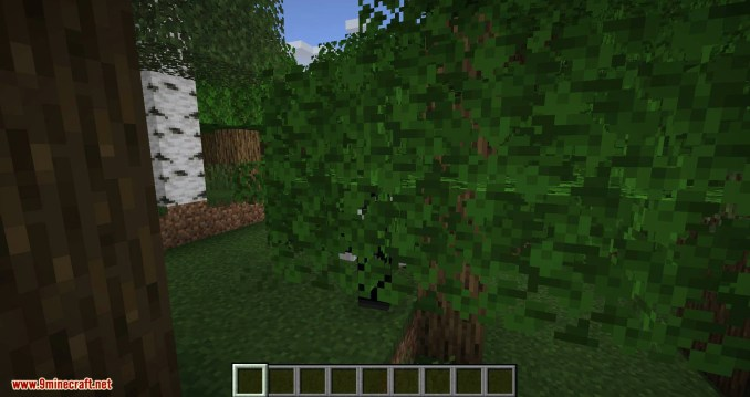 Passable Foliage mod for minecraft 03