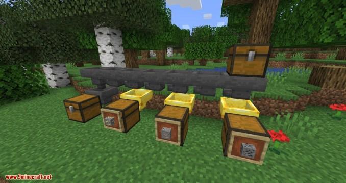 Golden Hopper mod for minecraft 06