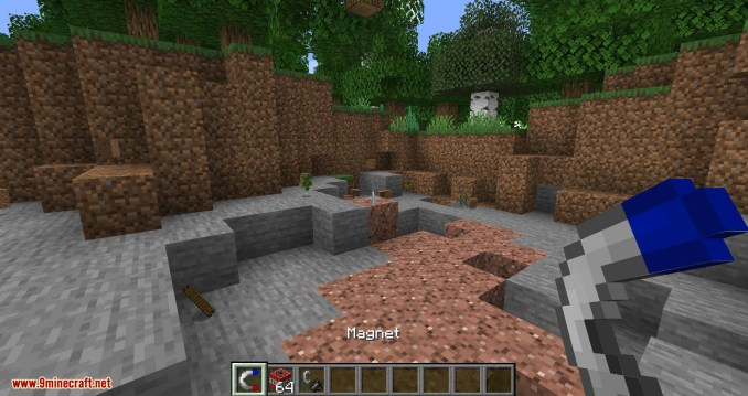 Simple Magnets mod for minecraft 03