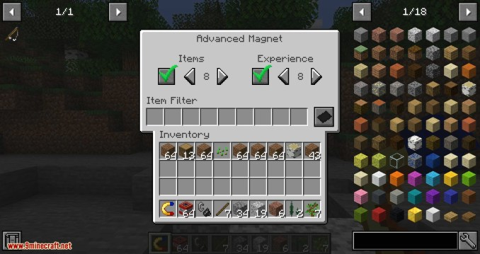 Simple Magnets mod for minecraft 07