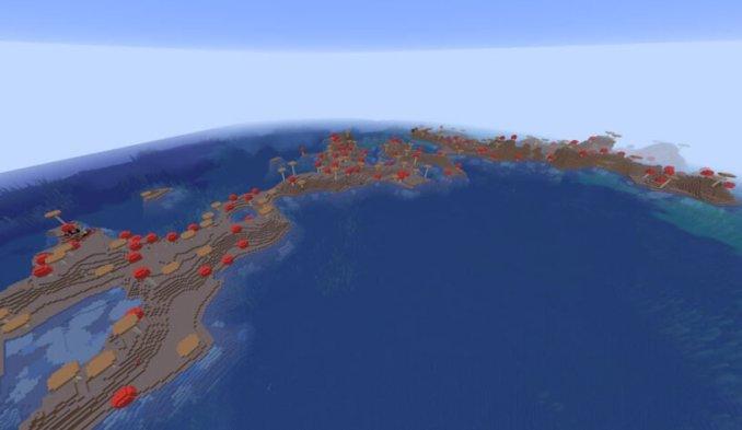 Skinny Mushroom Island Seed