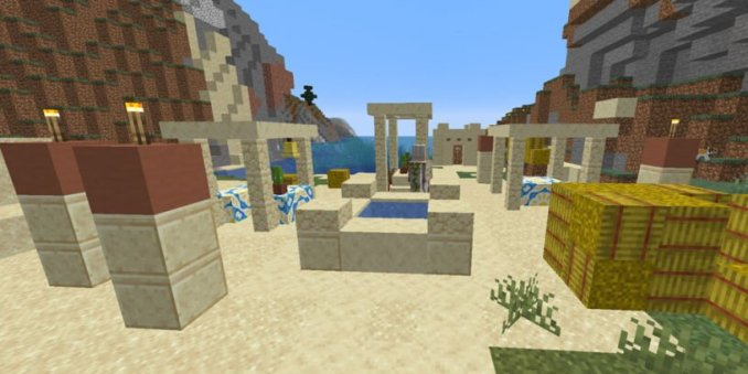 Desert Village Near Coral Reef (Java - 1.14.4)