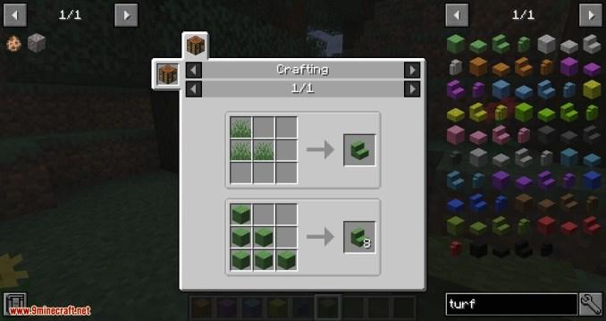 Turf mod for minecraft 07