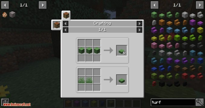 Turf mod for minecraft 09