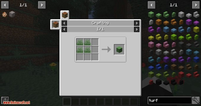 Turf mod for minecraft 01