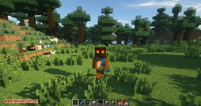 Just Mob Heads mod for minecraft 08