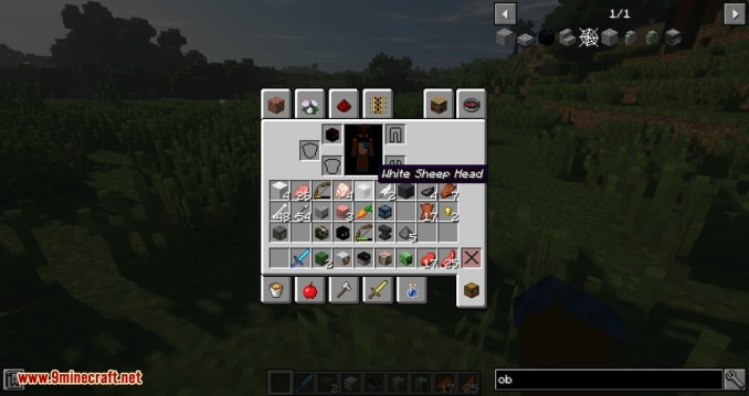 Just Mob Heads mod for minecraft 09
